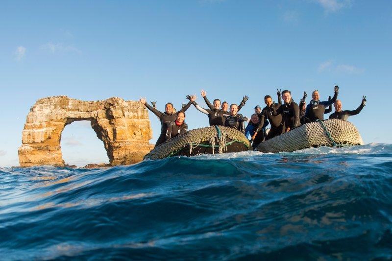 Divers at Darwin's Arch! Michael Patrick O'Neill