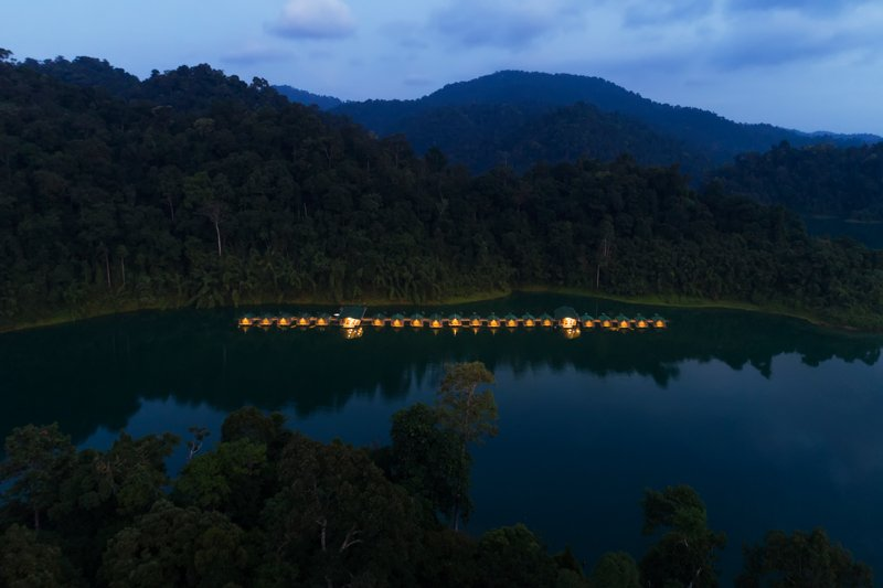 Elephant Hills Rainforest Camp Cheow Larn Lake Khao Sok National Park Thailand