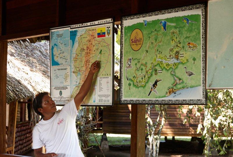 Images courtesy Tropic Eco Tours, Amazon Sani Lodge Tour, -5