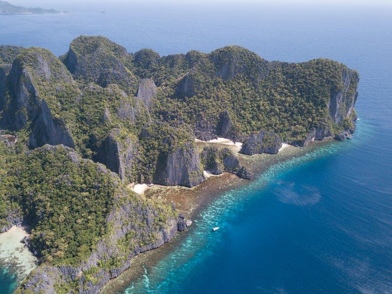 Coron Island south tip