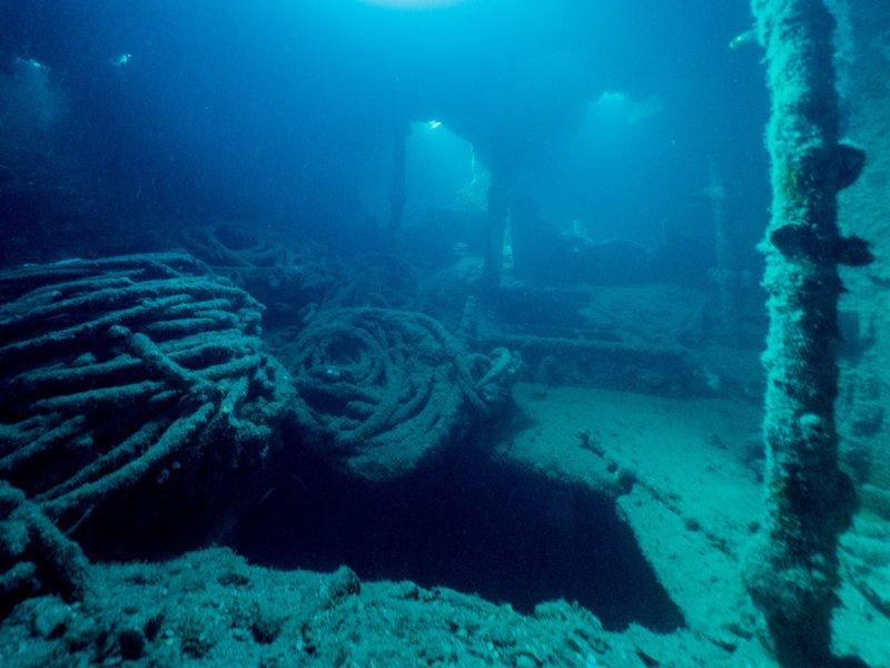 Sangat Island Resort - wreck diving-5