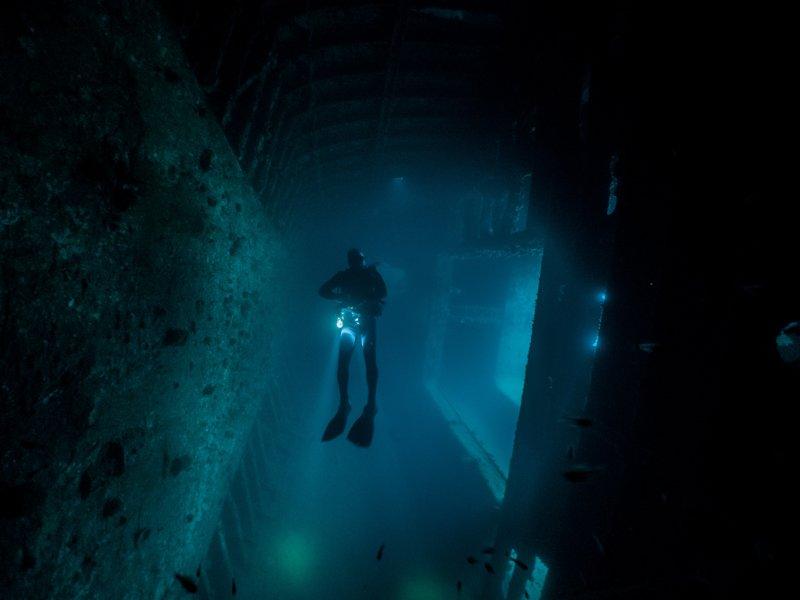 Sangat Island Resort - wreck diving-8