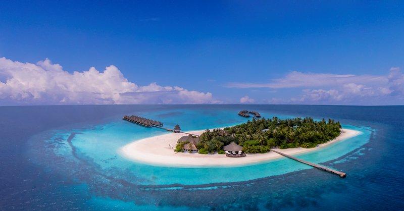 Angaga Island Resort _ Aerial