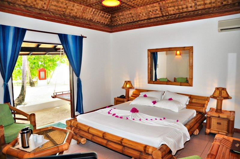 Angaga Island Resort _ Beach Bungalow 1