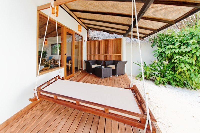 Angaga Island Resort _ Beach Bungalow