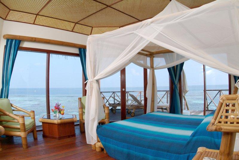 Angaga Island Resort _ Water Bungalow