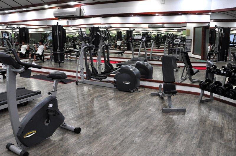 Angaga Island Resort _gym